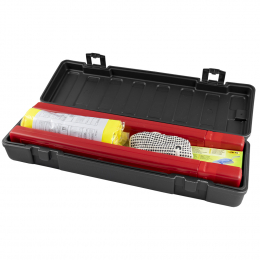 EMERGENCY KIT IN PLASTIC BOX