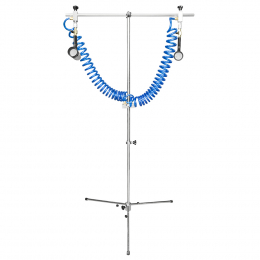 AIR BLOW STAND WITH 2 DRYING GUNS