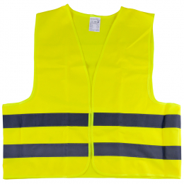 HIGH VISIBILIY REFLECTIVE VEST YELLOW / CE