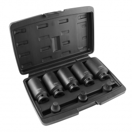 "8 PIECE 1/2"" XZN IMPACT SOCKET + BITS SET"