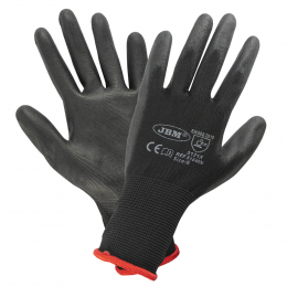 PALM PU COATED GLOVES T.8