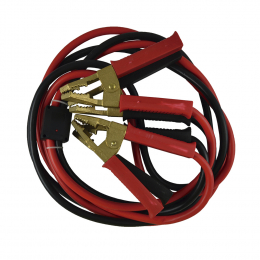 STARTER CABLE 35MMX2 / 3M WITH SOLID BRASS CLAMPS