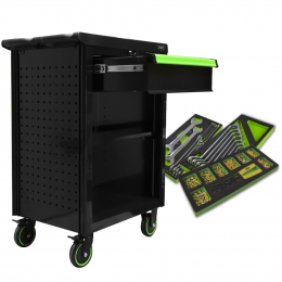 PROMO: ROLLER CABINET WITH 1 DRAWER + WITH TOOLS