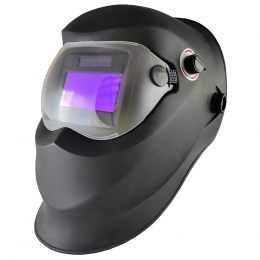 WELDING MASK WITH MANUAL REGULATOR