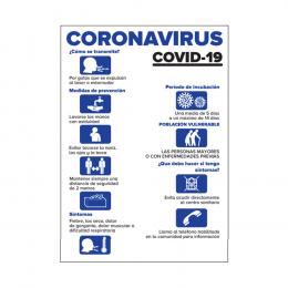 CARTEL INFORMATIVO - PRECAUCIONES COVID-19