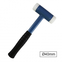 MARTILLO NYLON ANTI-REBOTE Ø40MM