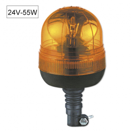 FLEXIBLE BASE ROTATING BEACON H1 24V 70W