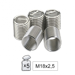 REPLACEMENT HELICOIDS  M18X2.5