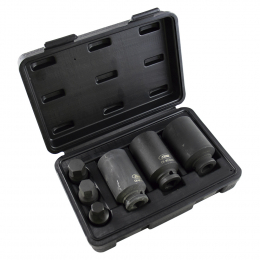 "6 PIECE SET OF 1/2"" HEX IMPACT TOOLS"