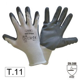 PALM NITRILE COATED GLOVES T11