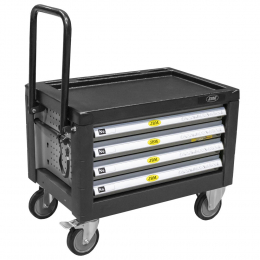 SMALL CART WITH 4 DRAWERS