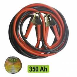 STARTER CABLE 35MMX2  / 3M WITH BRASS CLIPS
