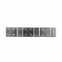 ZELFKLEVENDE BALANCEERGEWICHTEN IN STRIPS VAN 45 gr(5 gr - 10 gr, 5 gr - 10 gr, 5 gr - 10 gr - STRI