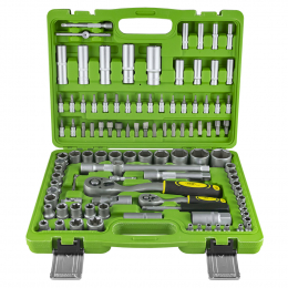 108 PIECE HEXAGONAL SOCKET SET