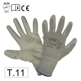ANTI-CUT GLOVES WITH TACTIL FEEL T.11