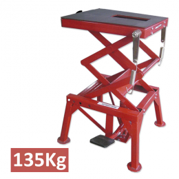 HYDRAULIC TABLE FOR MOTORCYCLES 135KG