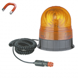 ROTATING BEACON WITH MAGNETIZED CABLE H1 24V 70W