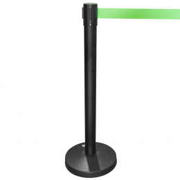SEPARATION POLE WITH RETRACTABLE TAPE