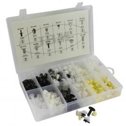 PLASTIC CLIPS SET FOR PEUGEOT/CITROEN 345 PCS