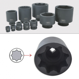 "IMPACT SOCKET 8C. 1"" 80MM"