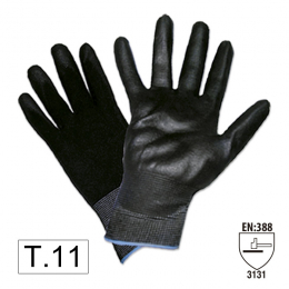 PALM PU COATED GLOVES T 100