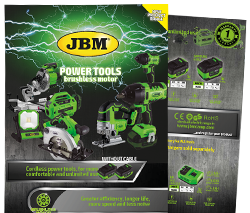 Catalogue power tools cordless